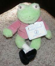 Peter Rabbit World of Beatrix Potter Jeremy Fisher Frog Vintage 2003 Plush Gund