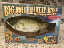 Big Mouth Billy Bass - The Singing Sensation 1999 With Box - *Read*