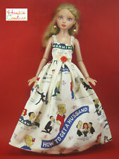 "FITS 16"" ELLOWYNE WILDE TONNER HOW TO GET A HUSBAND DOLL DRESS HANKIE COUTURE"