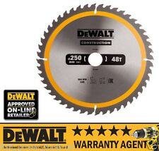 DeWalt DT1957-QZ Construction Circular Saw Blade 250 x 30mm 48T