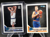 2019-20 Optic IGNAS BRAZDEIKIS Knicks Base RC RATED ROOKIE #173 + 3x Base LOOK