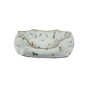 Wrendale Designs Luxurious Fabric Small Dog Bed - Great Gift Idea For Dog Lover