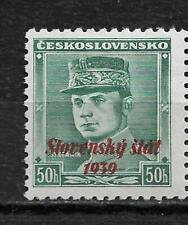 Slovakia 1939,General Štefánik 50h Scott # 9,VF MNH**OG (MB-11)