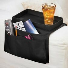 NEW Deluxe 6-Pocket Armchair Organizer Arm Rest Organizer With Table-Top Sale