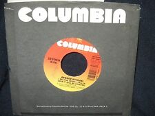 """George Michael """"Don't Let the Sun Go Down on Me/ Believe"""" 45 withjuke box label"""