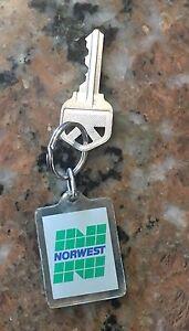 1980S Northwest Investments Keychain 3 Inch