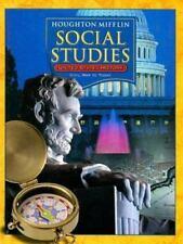 Houghton Mifflin Social Studies: United States History, Grade 5 - Civil War to