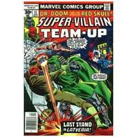 Super-Villain Team-Up #11 in Very Fine minus condition. Marvel comics [*f5]
