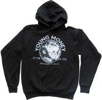 HANES Sweatshirt mit Kapuze YOUNG MONEY / Gr. S / NEU