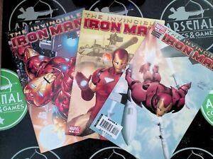 The Invincible Iron Man #1-9 + Variant #1 Marvel SET VF/NM Matt Fraction