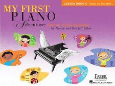 Il mio primo pianoforte AVVENTURA lezione Play-Along imparare a giocare Tutor MUSIC BOOK C & CD