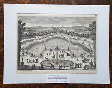 XVII ème Dépt 78 Belle Gravure La Grande Pièce d'Eau à Versailles PL 93 - 1680