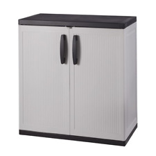 Gray Plastic Cabinets Cupboards For