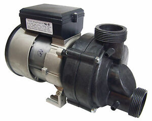 Whirlpool Bath Tub Jet Pump - 3/4hp, 7.7 amps, 115 volts w/ Cord and Air Switch