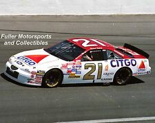 MICHAEL WALTRIP #21 1997 WOOD BROTHERS RETRO CITGO 8X10 PHOTO NASCAR WINSTON CUP