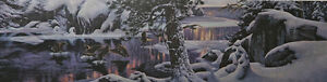 Stephen Lyman, River of Light,  S/N LE Lithograph, Mint in Original Package