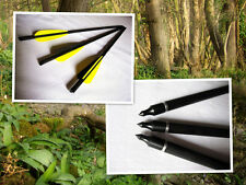 "6)hunting Carbon fiber crossbow Bolt 17"" completed w/nock insert tip"