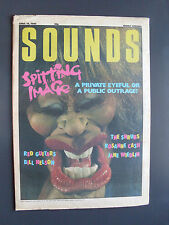 SOUNDS APR 19 86 SONIC YOUTH SHRUBS RED GUITARS ROSANNE CASH SIOUXSIE LAW FLUCK