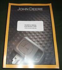 John Deere 410G Terne Technica Servizio Riparazione Manuale TM1882