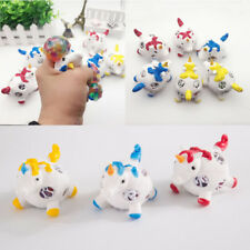 Novelty Kids Anti Stress Unicorn Mesh Grape Ball Autism Mood Squeeze Relief Toys
