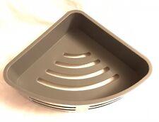Removable Corner Shower Basket Chrome Plated Brass. RRP £65