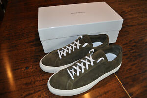 Common Projects Achilles Low Suede Olive - Size 41 EU