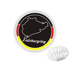Nurburgring Race Track Motor sport German Car Van Stickers Decal Bumper Sticker