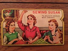 "Vintage Sewing Needles ""Sewing Susan"""