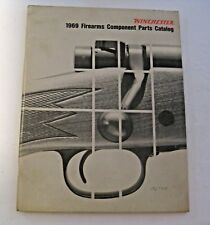 Vintage 1969 Winchester Component Parts Catalog Gun Manual ~ Hunting Shooting