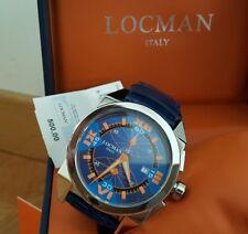 Orologio LOCMAN CAVALLO PAZZO cronografo 47mm NUOVO GARANZIA Ref. 160 watch €500