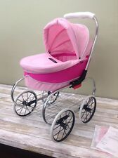 Valco Baby Just Like Mum Collection Doll's Pram Stroller - Pink