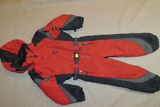 OBERMEYER SKI SNOW SUIT JACKET PANTS COMPASS INSULATED HOOD BELT I GROW BOY'S 4