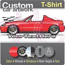 Custom T-shirt 1992-98 Civic DelSol Del Sol not affiliated with HONDA CRX Vtec