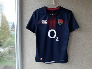 England Alternative/Away Rugby Union Shirt 2016/2017 Jersey Canterbury Size S