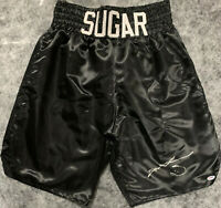 Sugar Ray Leonard Signed Boxing Trunks - PSA DNA COA