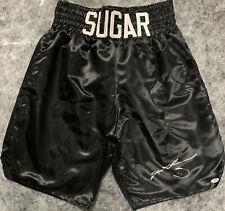 Sugar Ray Leonard Signed Boxing Trunks - PSA DNA COA