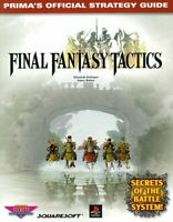 Final Fantasy Tactics (Prima's Official Strategy Guide) by Hollinger, Elizabe…