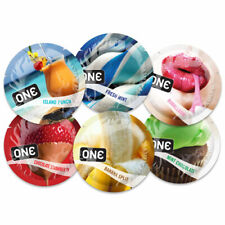 ONE FLAVOR WAVES Condoms ~ 50 Pack ~