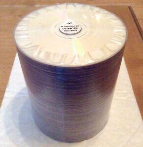 DVD-R 16x JVC Taiyo Yuden White Everest / Non Printable  100 Pcs