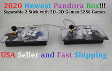 2020 Newest Separable Pandora Box 3288 3D & 2D Games in 1 Home Arcade Console
