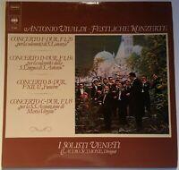 Vivaldi Festliche Konzerte I Solisti Veneti Claudio Scimone CBS Stereo 61 644