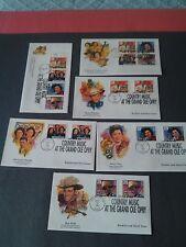 6 US Fleetwood Covers  Scott 2771 thru 74  (1993) Nashville Bk# Strip,Bk4+4slg