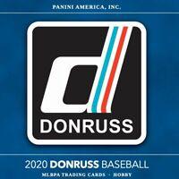 2020 DONRUSS BASEBALL #1-264! BUY 3 GET 1 FREE - FREE SHIPPING
