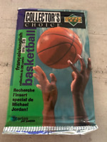 *** 1 paquet BASKETBALL UPPER DECK COLLECTOR'S CHOICE 1995/1996 ***
