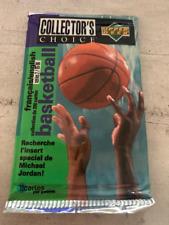 *** 1 paquet BASKETBALL UPPER DECK COLLECTOR'S CHOICE 1995/1996 ***