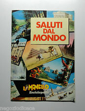 Album Figurine-Stickers - SALUTI DALMONDO - MONELLO 1972 - 27 Figurine su 30