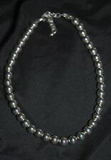 SILPADA - N1309 - Sterling Silver 10mm Bead Necklace - RARE! HTF!