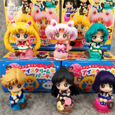 sailor moon cake set of 6pcs PVC figure gift doll hot toy anime gift