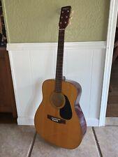 Vintage Yamaha Eterna EF-10 Natural Acoustic Guitar