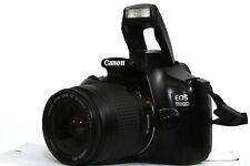 Canon EOS 1100D 12,2 MP FULL HD DSLR mit Canon EF 28-80mm Objektiv + Zub